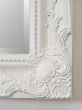 NEW French White Shabby Chic Ornate Mirror - CHOOSE YOUR SIZE - Ready to Hang